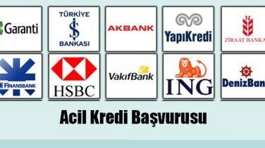 Acil Kredi Başvurusu